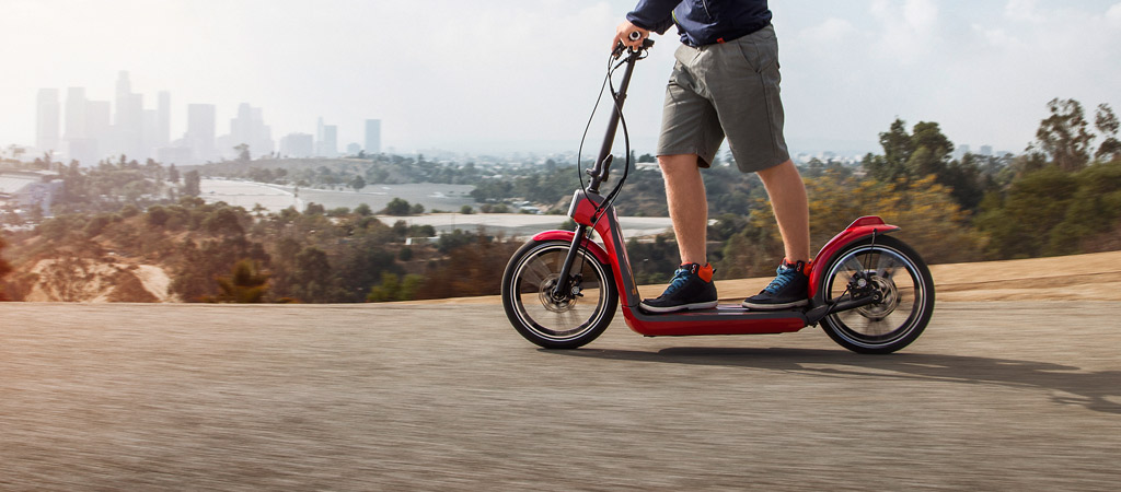 MINI CITYSURFER ELECTRIC SCOOTER.