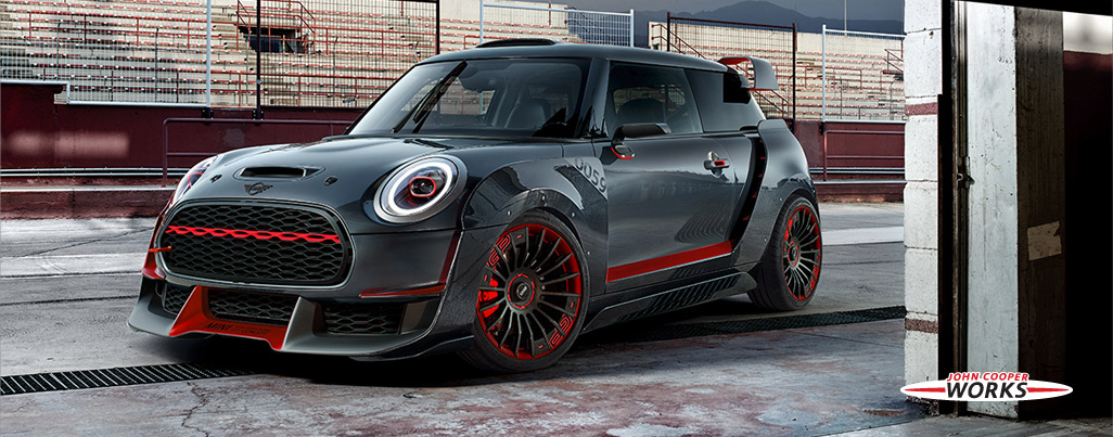 THE NEW MINI JOHN COOPER WORKS GP CONCEPT.