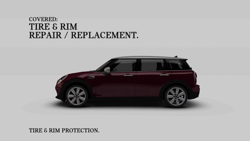 YouTube Video of MINI Financial Services Protection Products: Tire and Rim Protection.