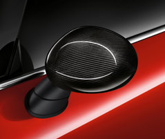 WING MIRROR CAPS, CARBON FIBRE*