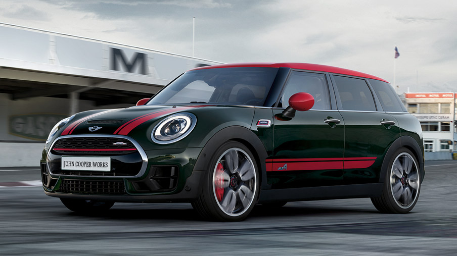MINI John Cooper Works Clubman ALL4 sport stripes