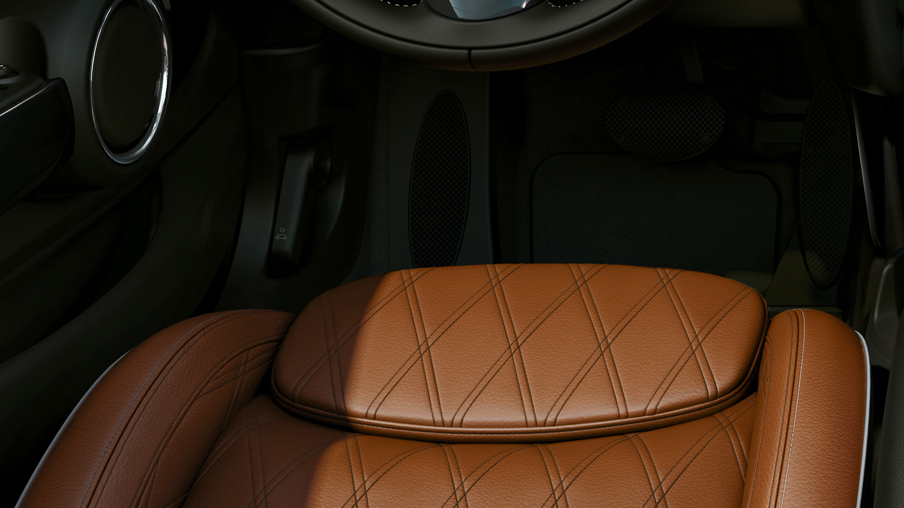 CHESTER LEATHER MALT BROWN UPHOLSTERY