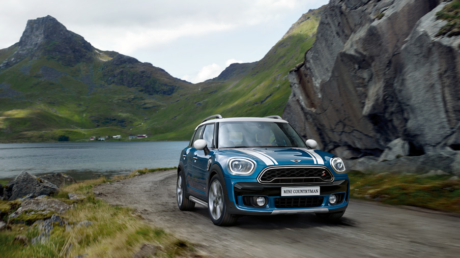 MINI ALL4 EXTERIOR STYLING