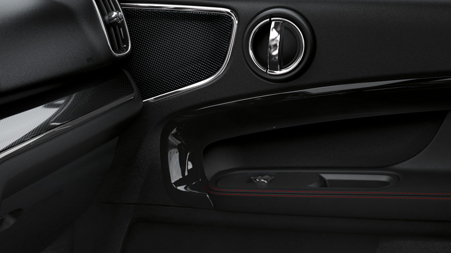 MINI YOURS INTERIOR SURFACES – PIANO BLACK ILLUMINATED