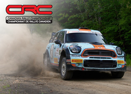 Canadian Rally Championship.