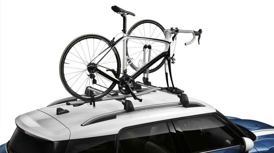 MINI Racing bike rack.<br />