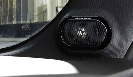 Harman/Kardon Speakers.